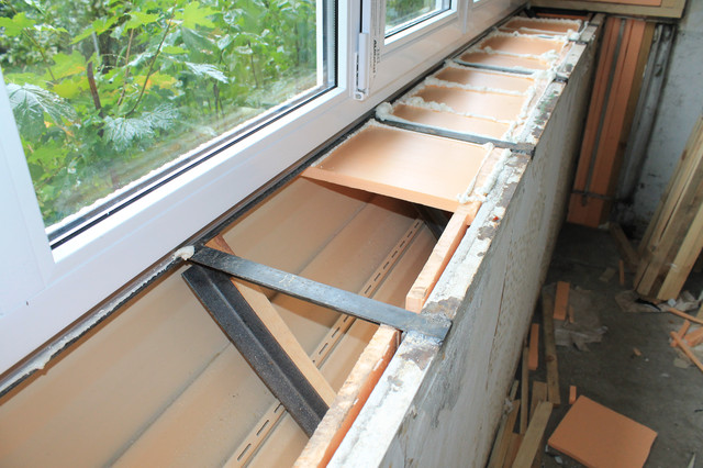 Отделка балкона с выносом внутри пошаговая инструкция