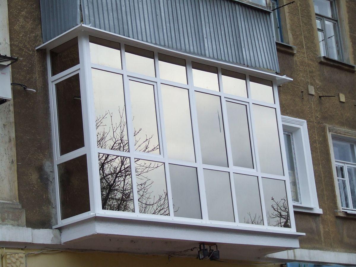 О��екление балконов в ����евке 51 �о�о вид� � в�но�ом и