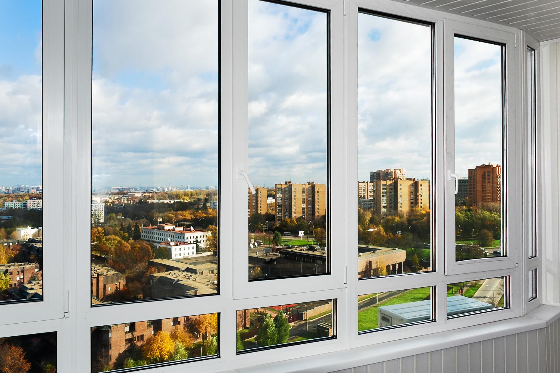 Балконные окна теплые цена.