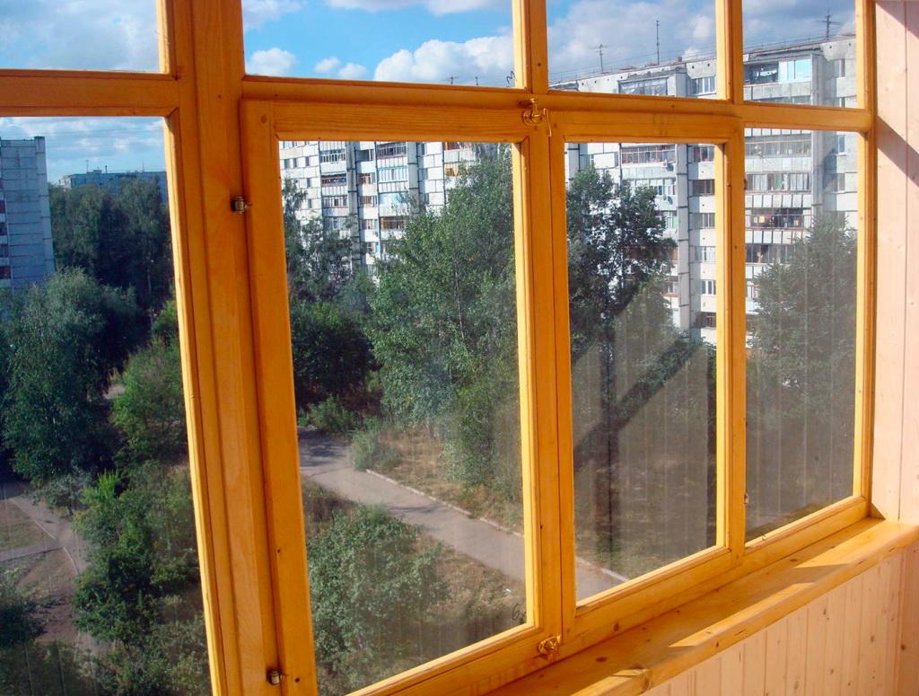 Окна деревянные для квартиры своими руками