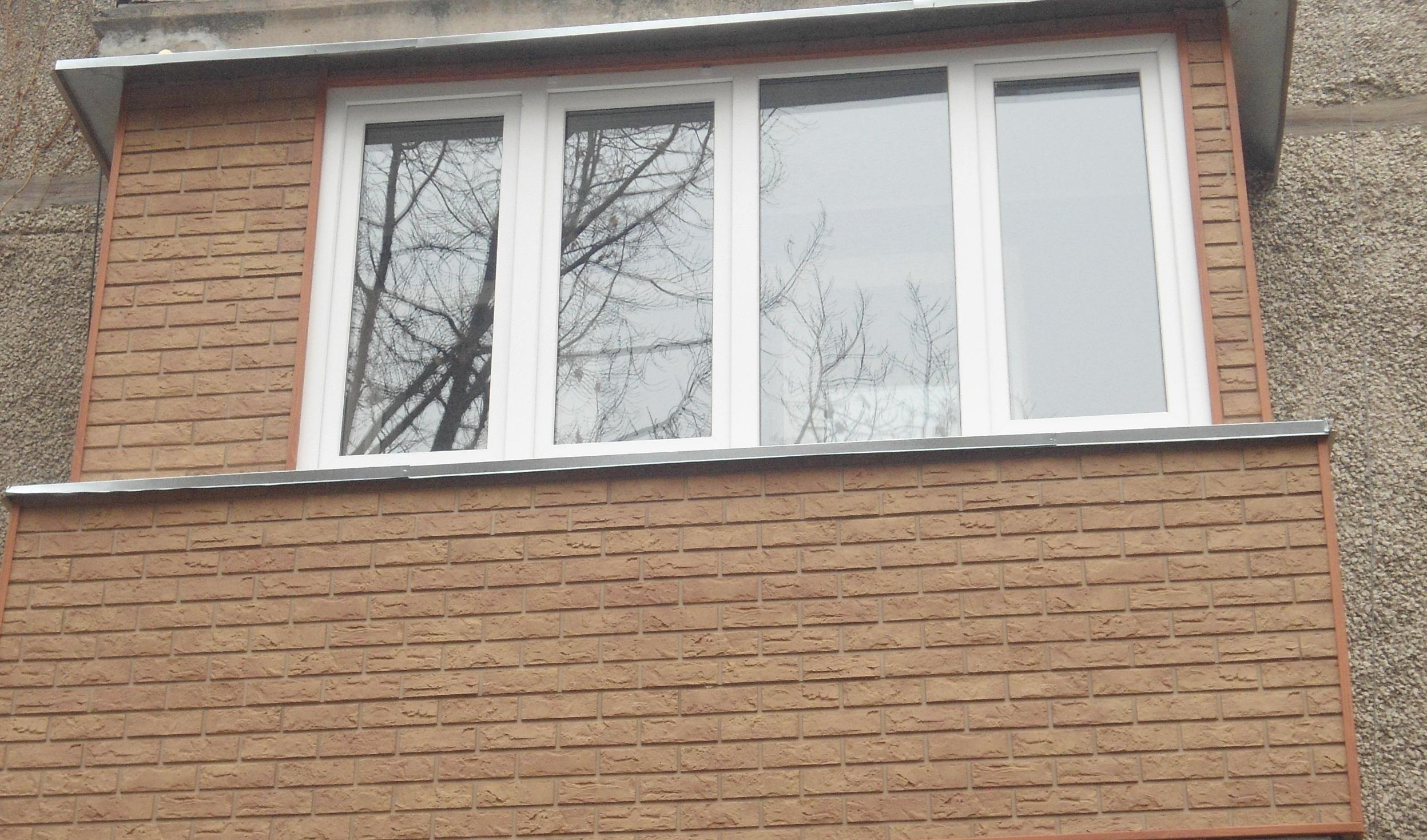 Отделка балкона сайдингом (50 фото): как обшить снаружи цоко.