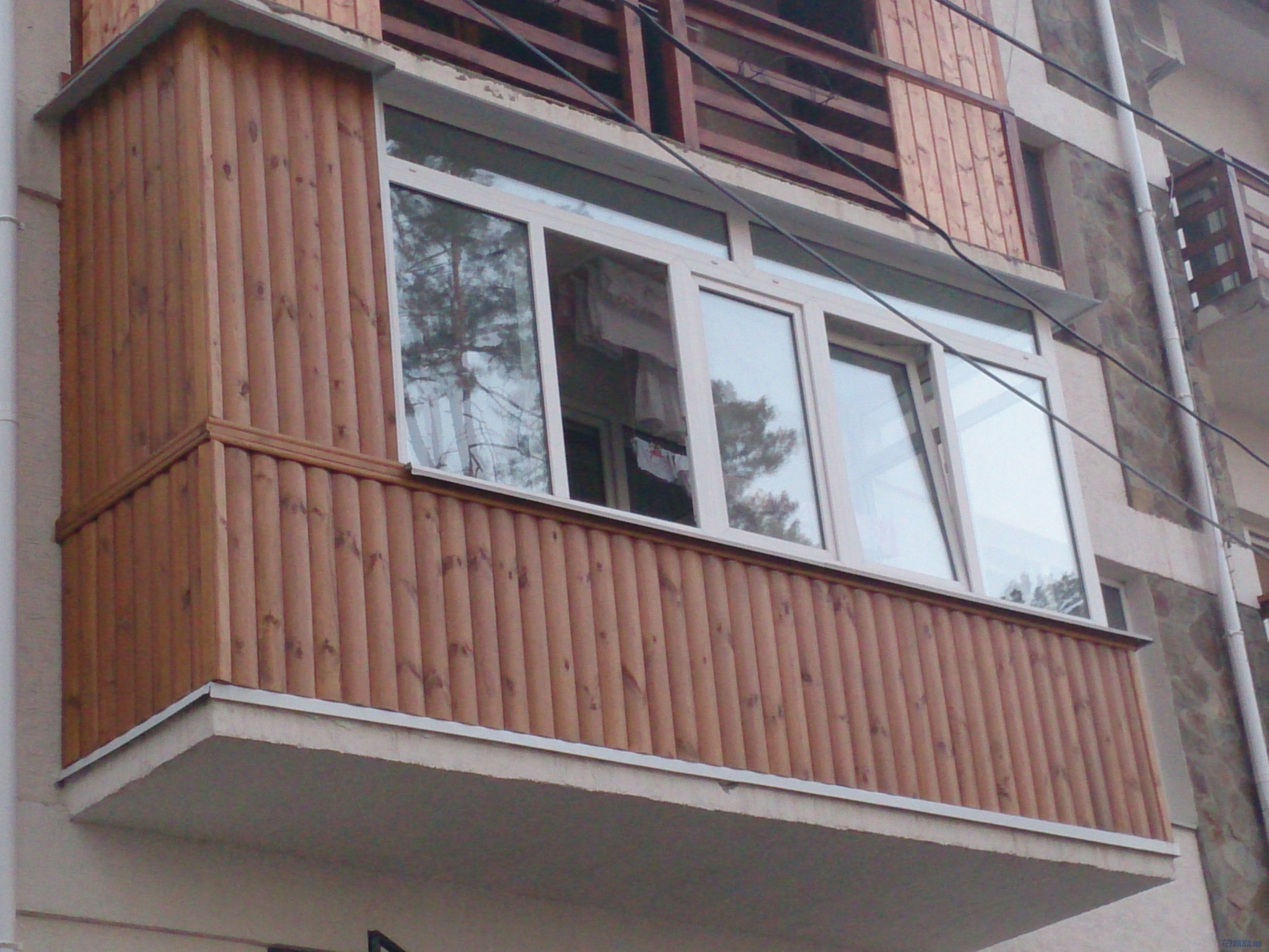 Обшивка балконов и лоджий под ключ. утепление. вынос плиты,п.