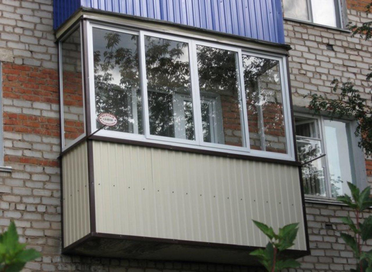 Наружная обшивка (отделка) балкона. утепление лоджии в новос.