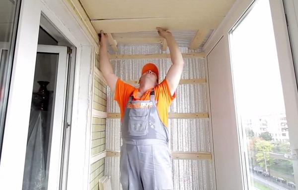Балкон как утеплить своими руками с фото