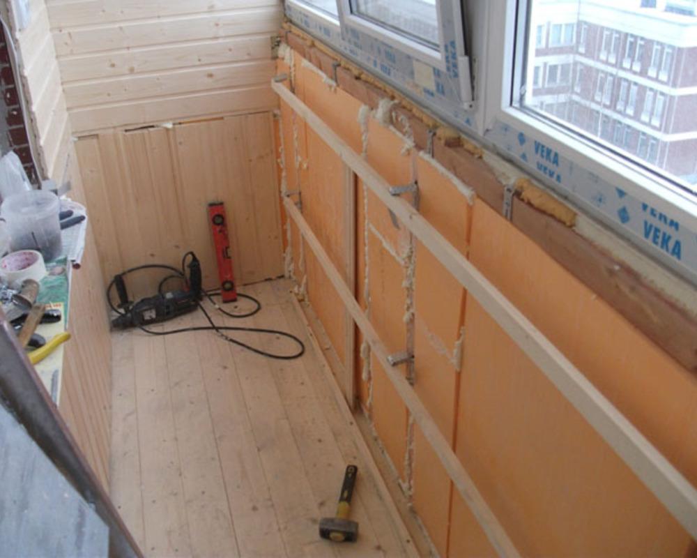 Утепление балкона или лоджии своими руками ремонт и обустрой.