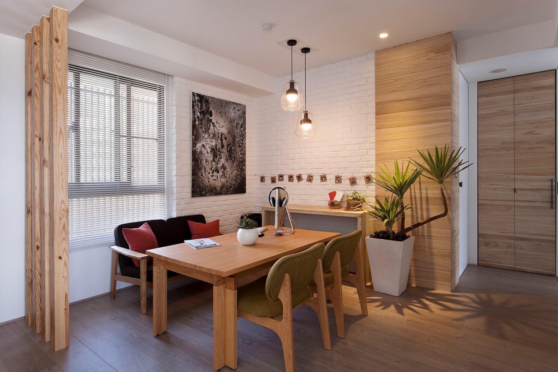 дизайн квартир с деревом фото