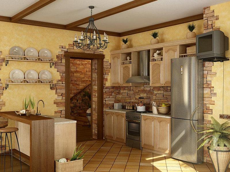 Лучшие материалы для отделки стен на кухне