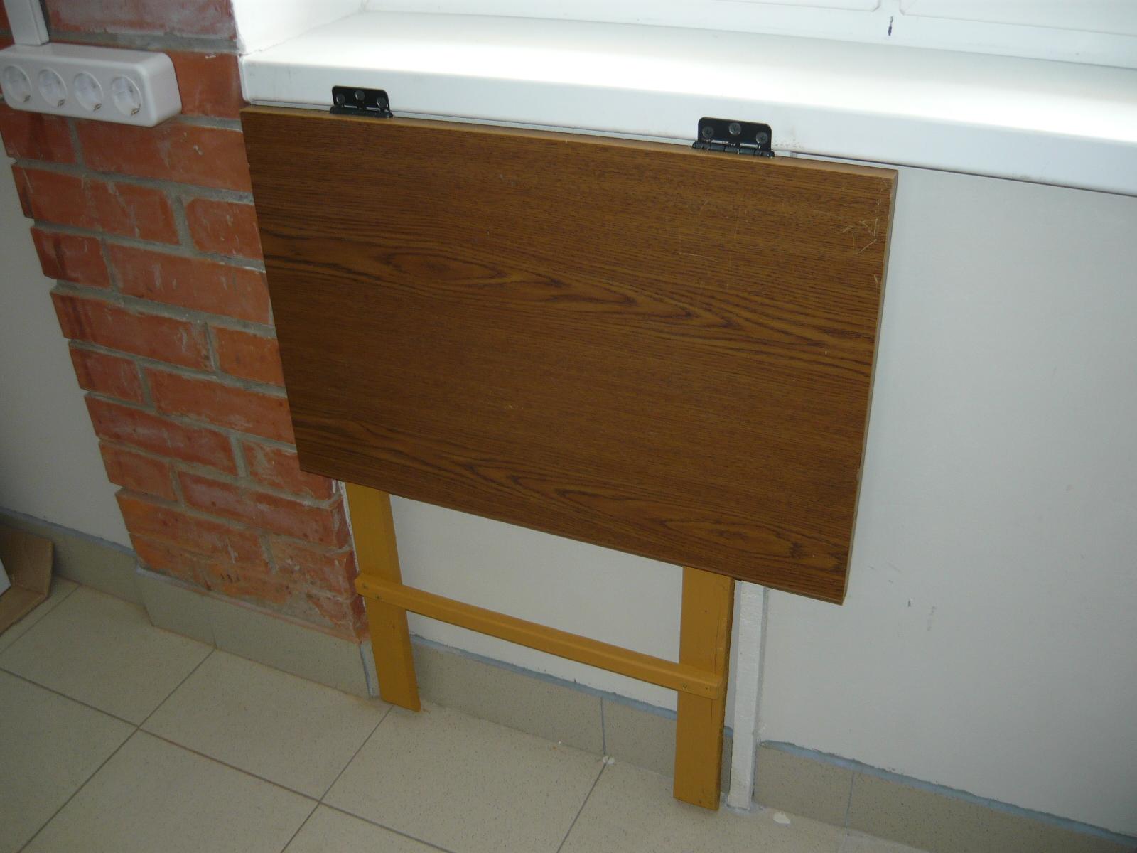Откидной стол на кухню (46 фото): как сделать пристенный кух.