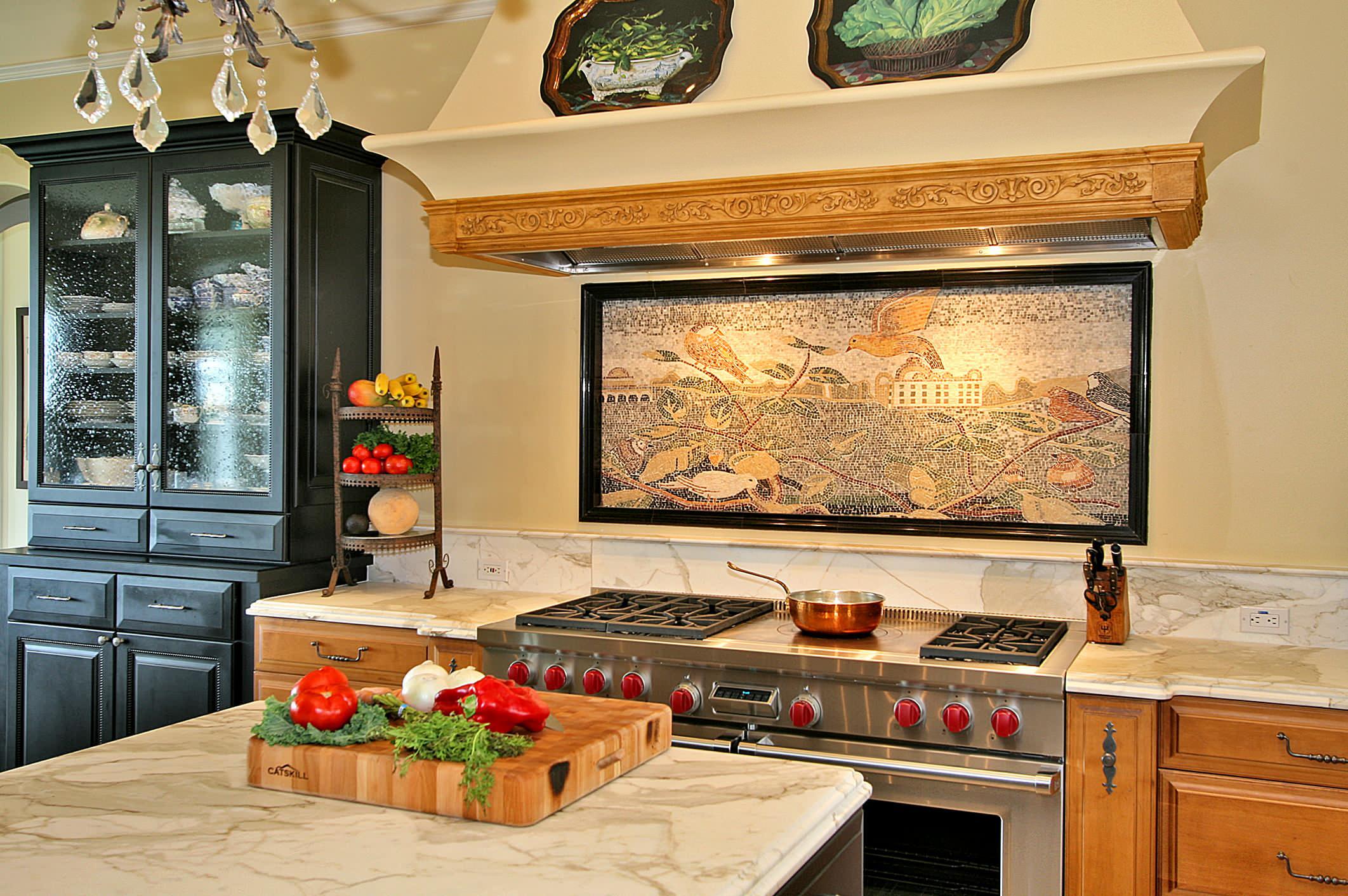 Панно на кухне своими руками фото