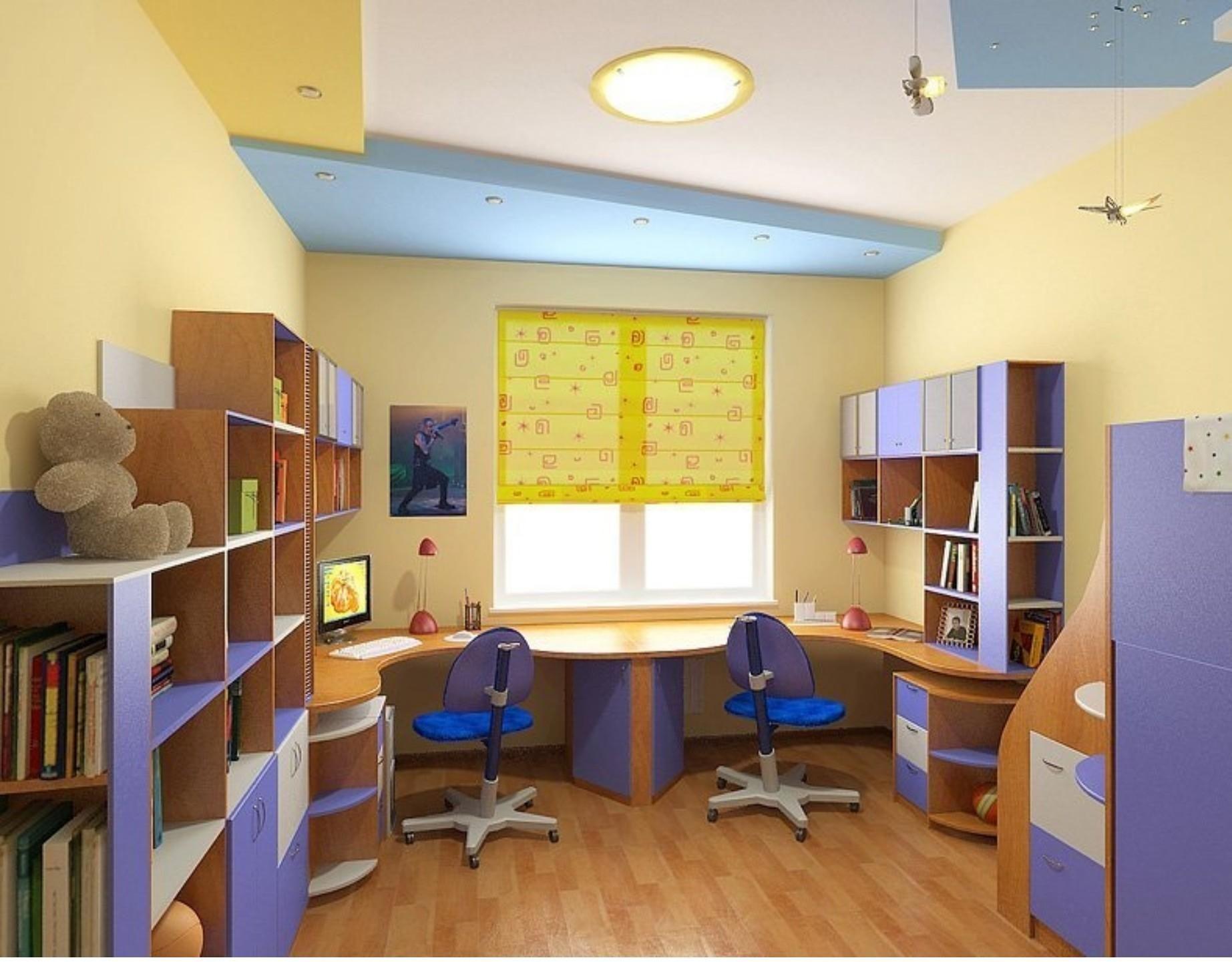 Фото Школьная доска в детской комнате
