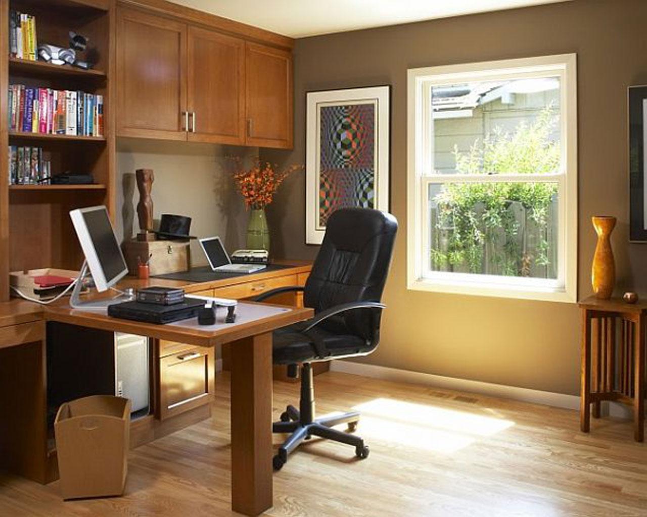 Как сделать расстановку мебели в кабинете