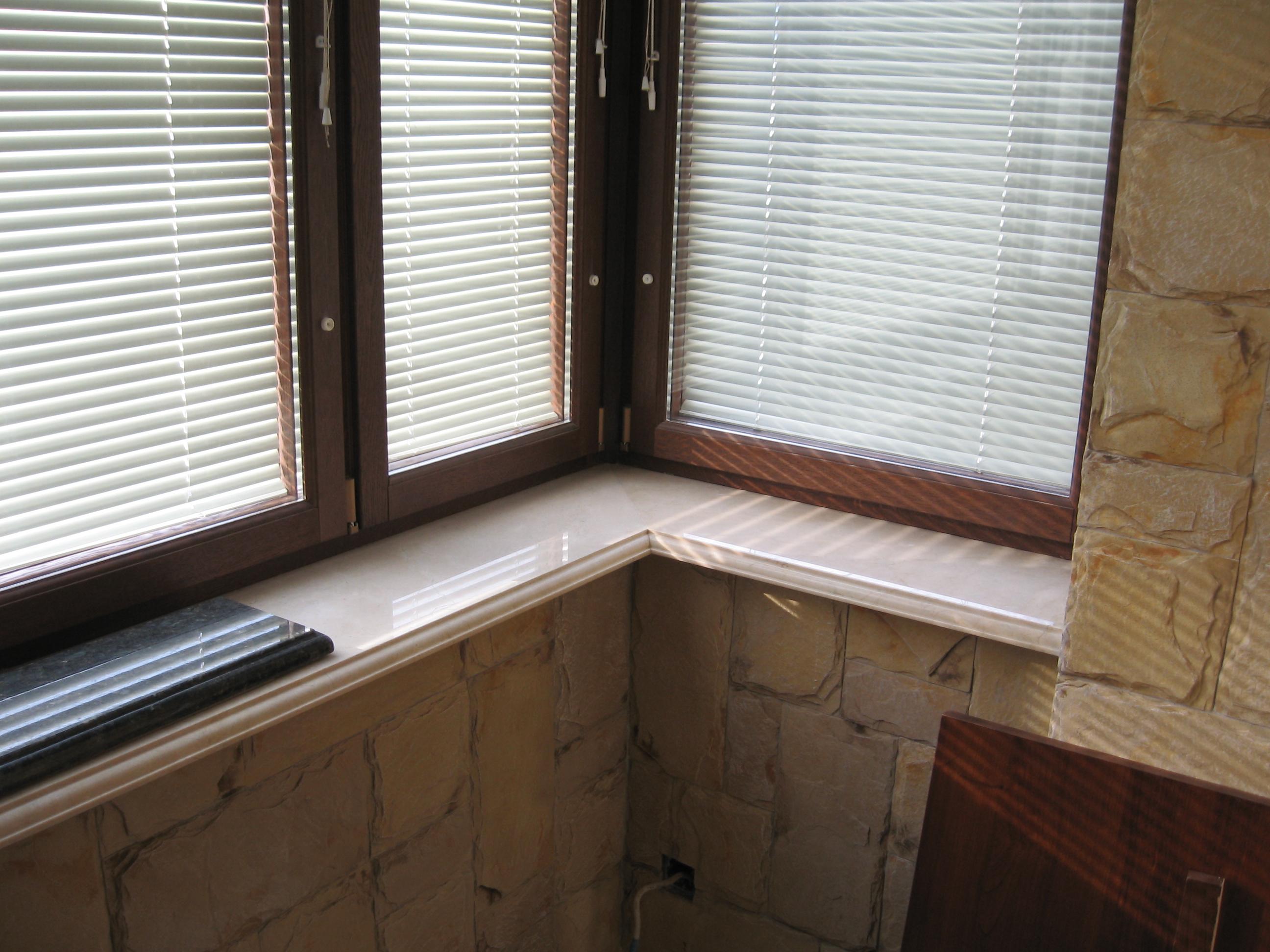 Подоконник на балконе: как установить и сделать своими рукам.