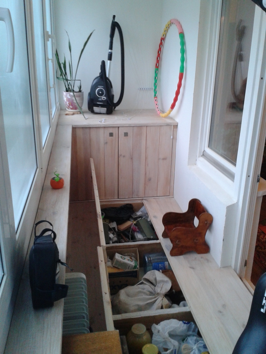 Шкаф для овощей на балконе своими руками с подогревом