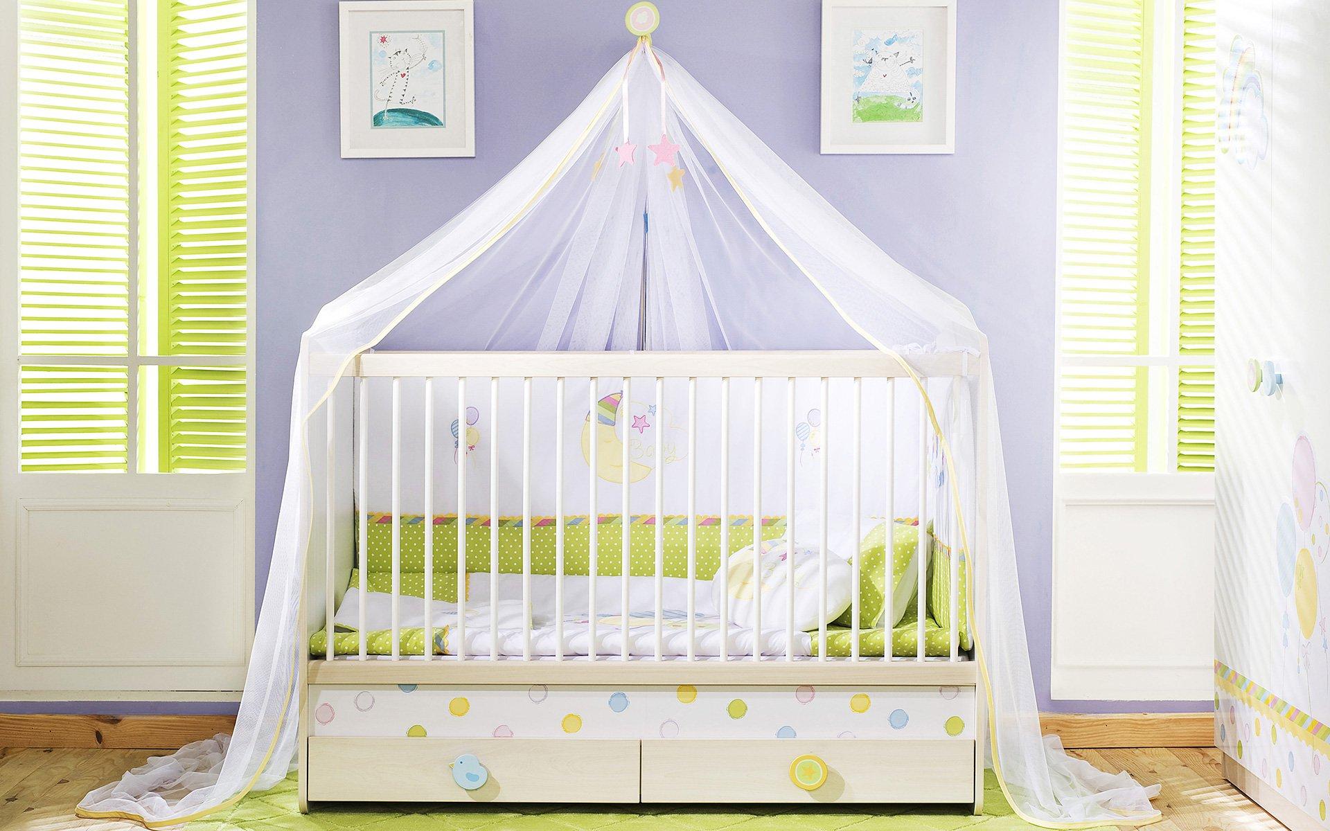 Утро картинки, картинки кроватка детская с ребенком