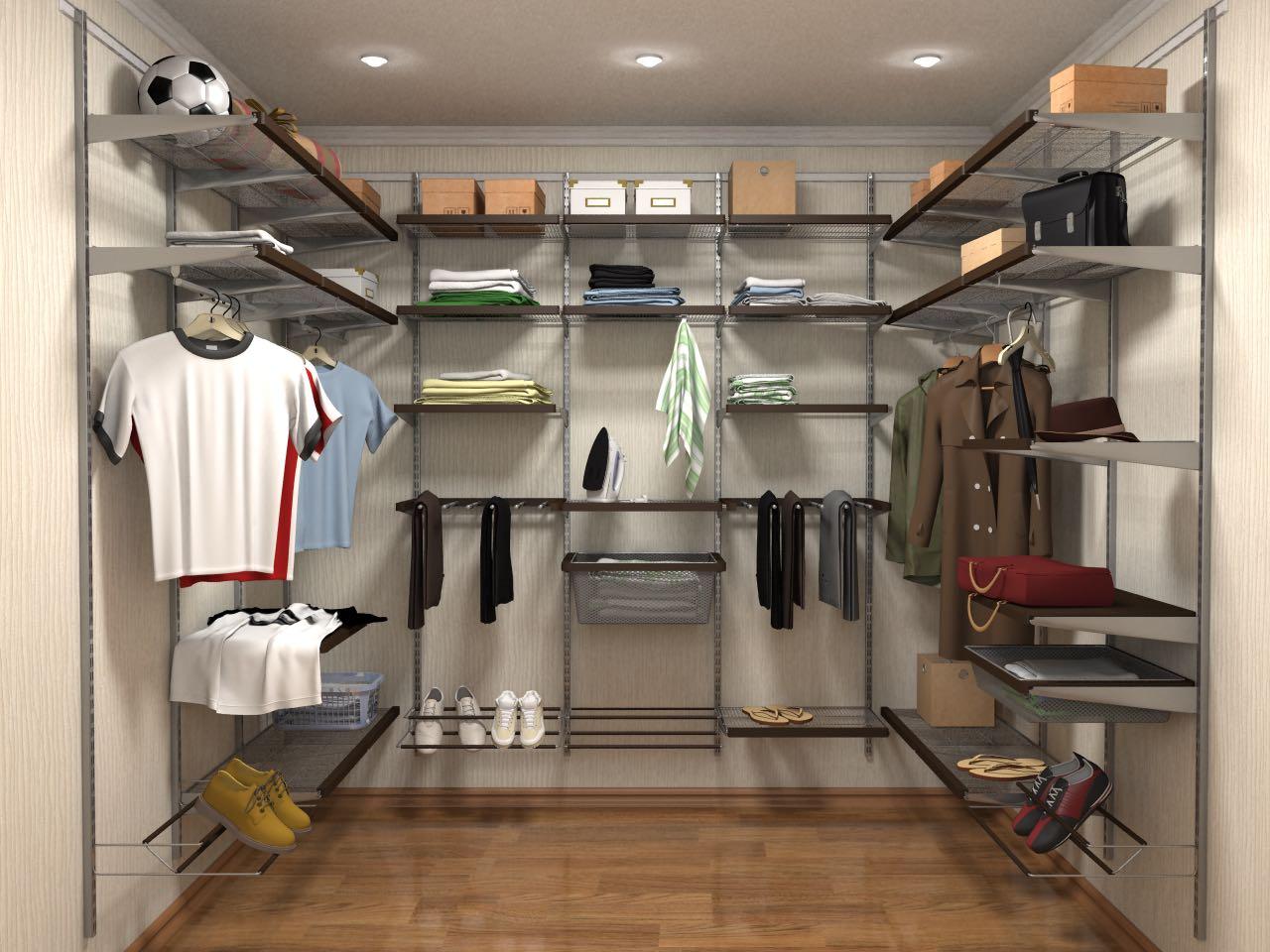 Установка гардеробной системы аристо своими руками