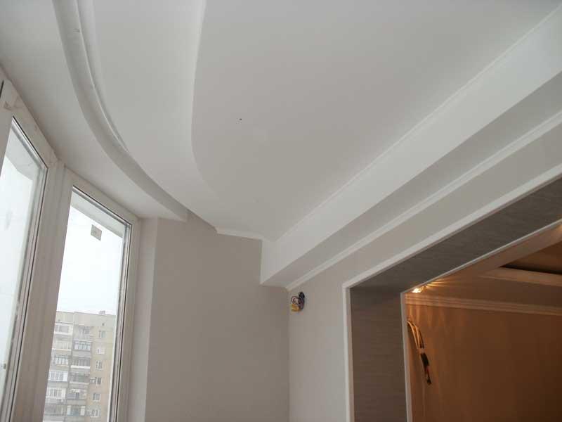 Варианты отделки потолка на балконе - гидроизоляция, утеплен.