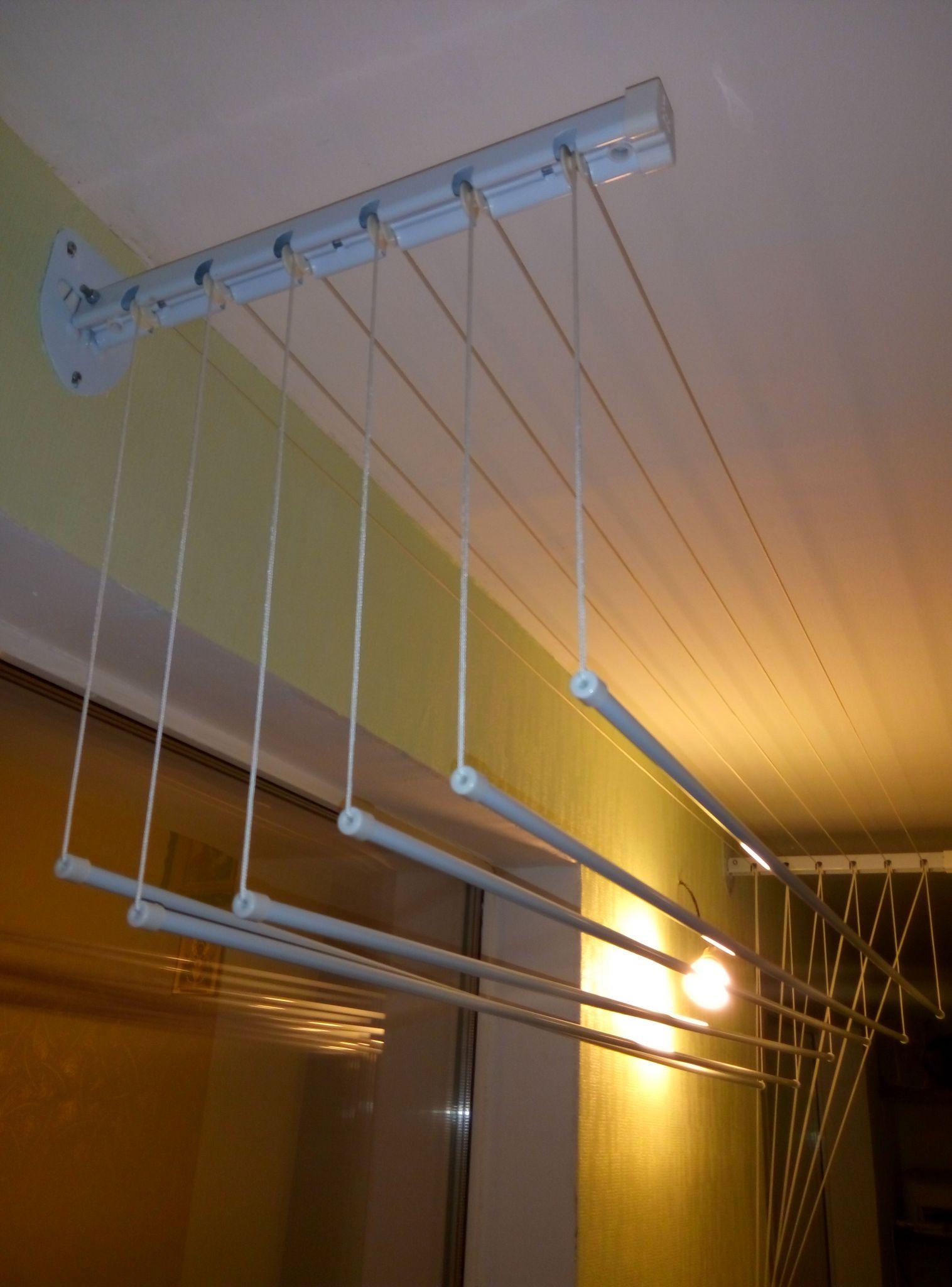 Потолочная сушилка на балкон для белья (80 фото): балконная .