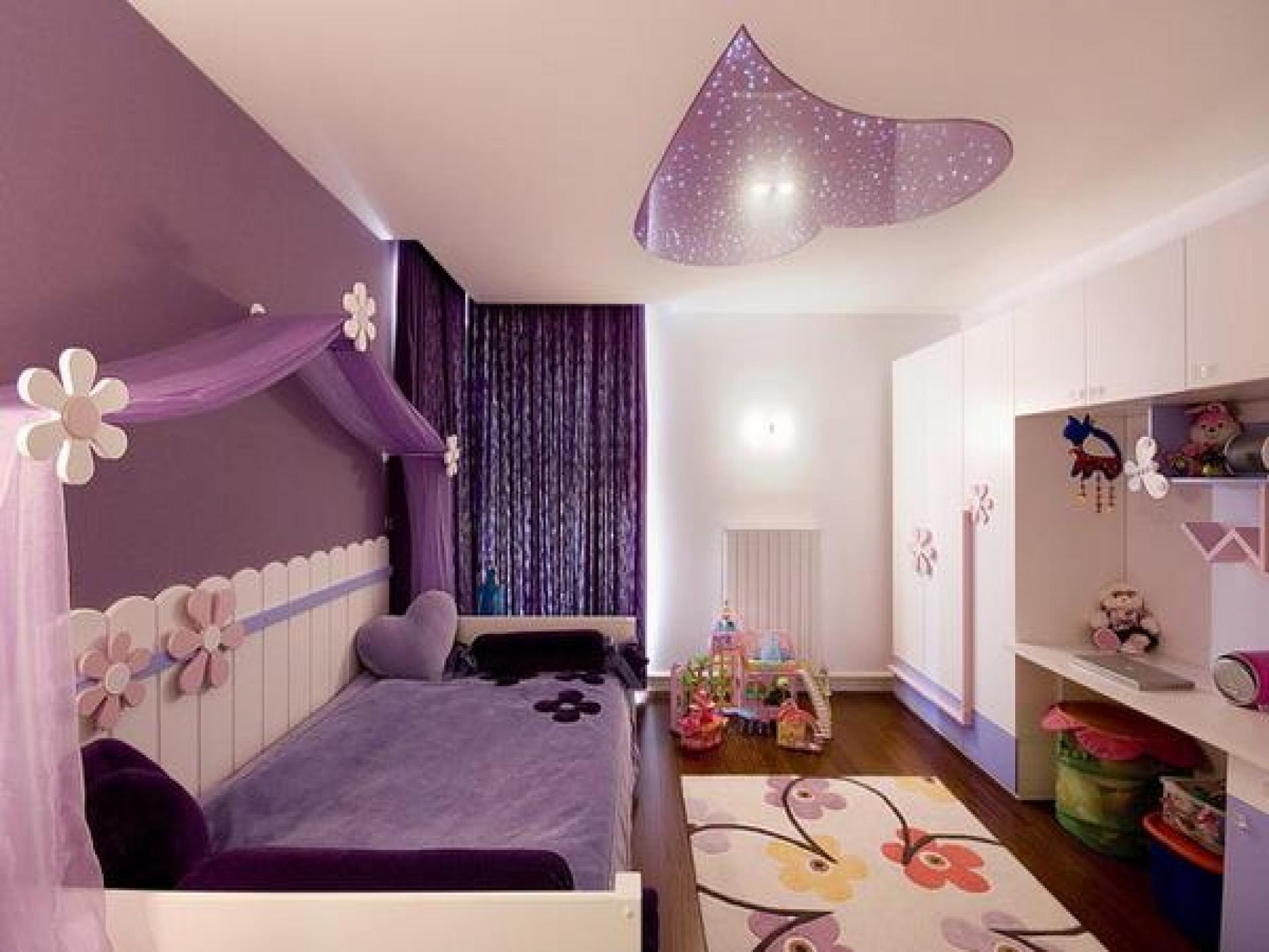 Детская комната для девочки : ремонт, 75 фото идей дизайна 36