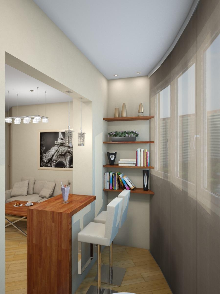 Присоединение лоджии к комнате (49 фото): совместить и объед.