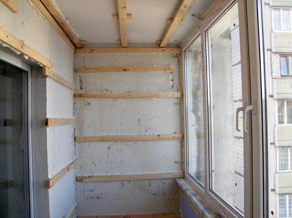 Обшить балкон вагонкой своими руками с чего начать