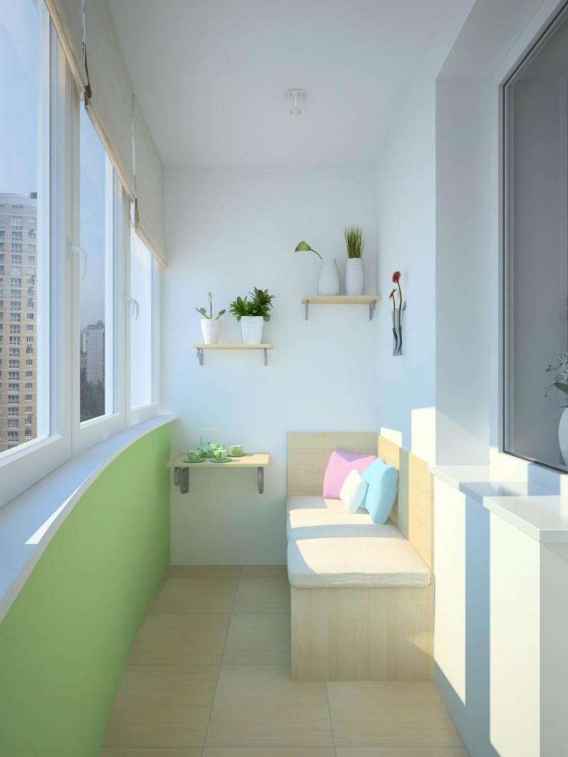 Как обустроить балкон и лоджию: идеи, варианты, фото.