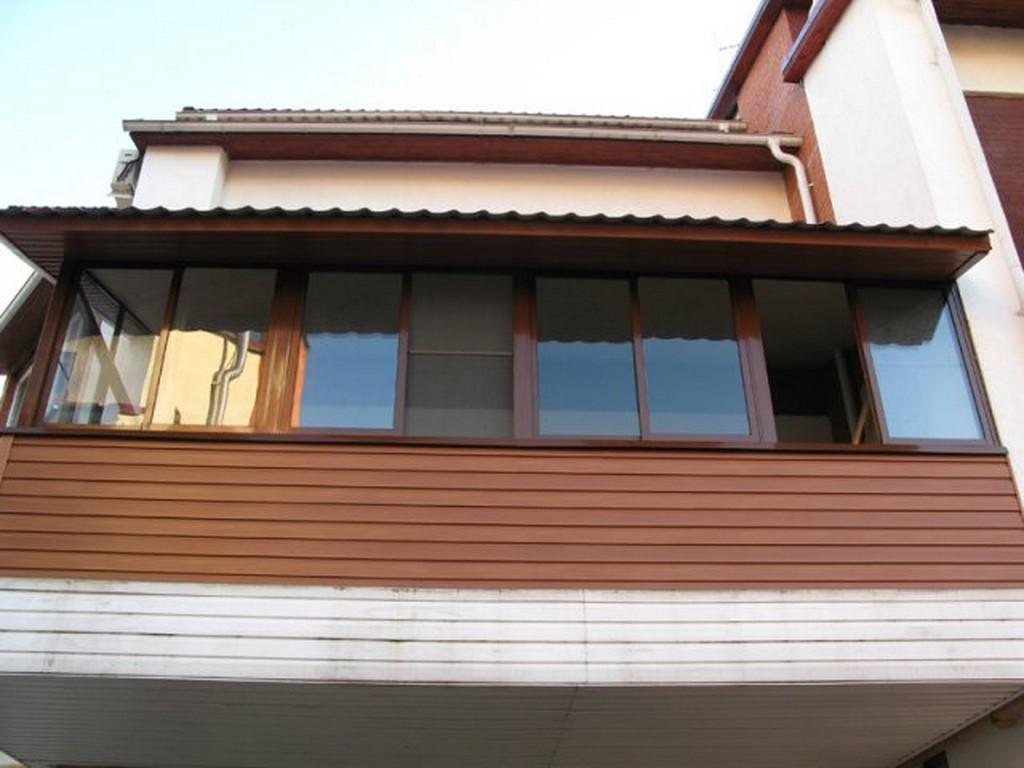 Крыша на балконе своими руками, как правильно установить, со.