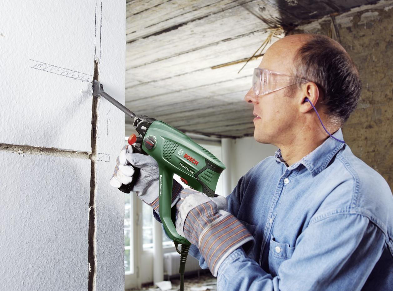 Как сделать проем в стене перфоратором