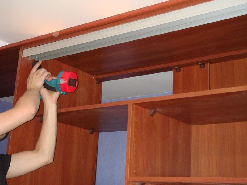 Как сделать купейные двери