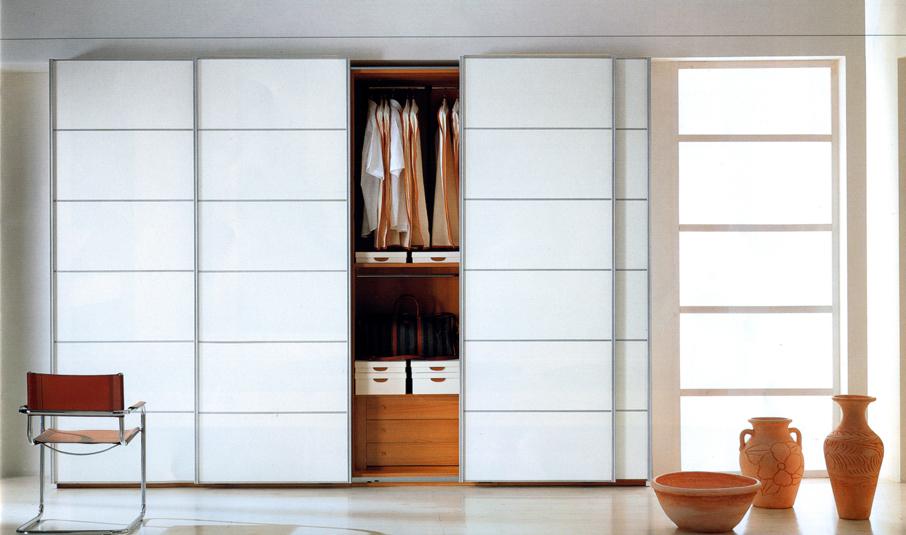 Шкаф купе белый дизайн