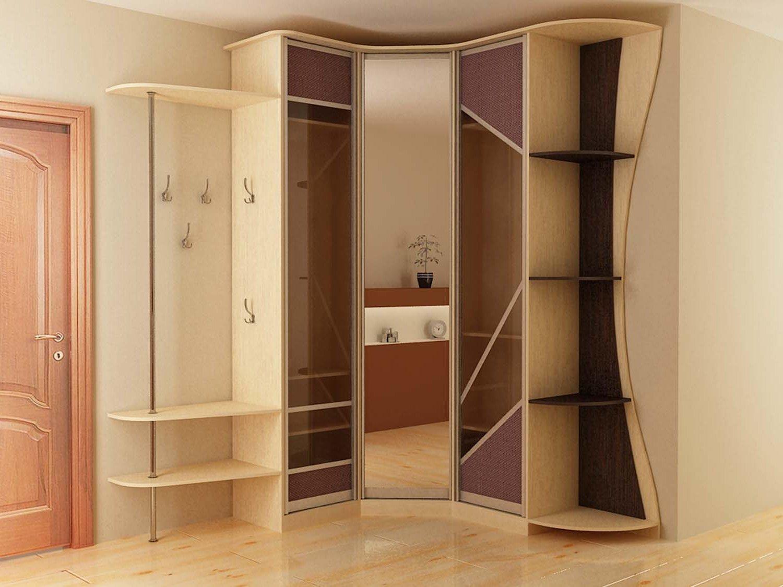 Дизайн угловые шкафы купе в прихожую