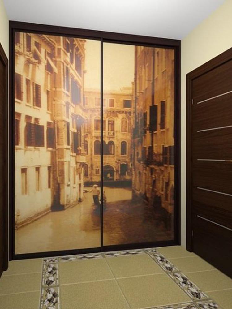 Шкаф-купе в прихожую (130 фото): современные модели в коридо.