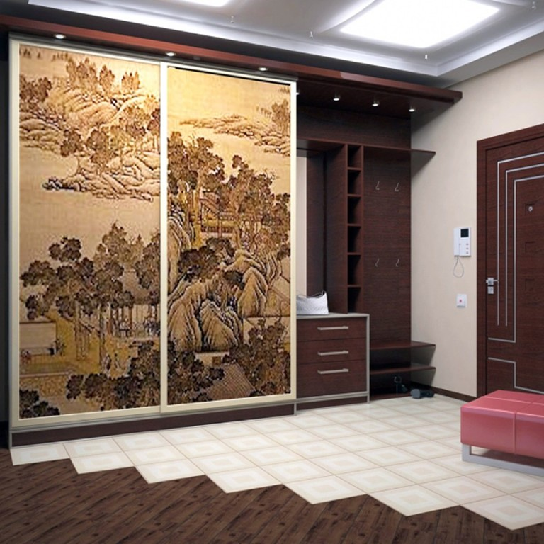 Встроенная мебель для прихожей, фото и рекомендации.
