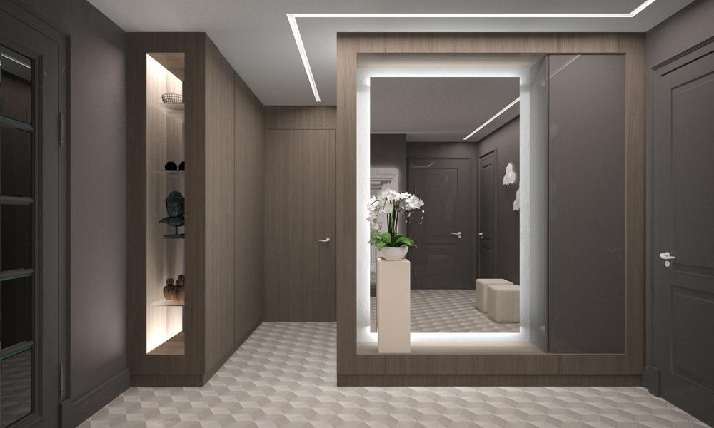 Идеи дизайна для прихожей в квартире фото