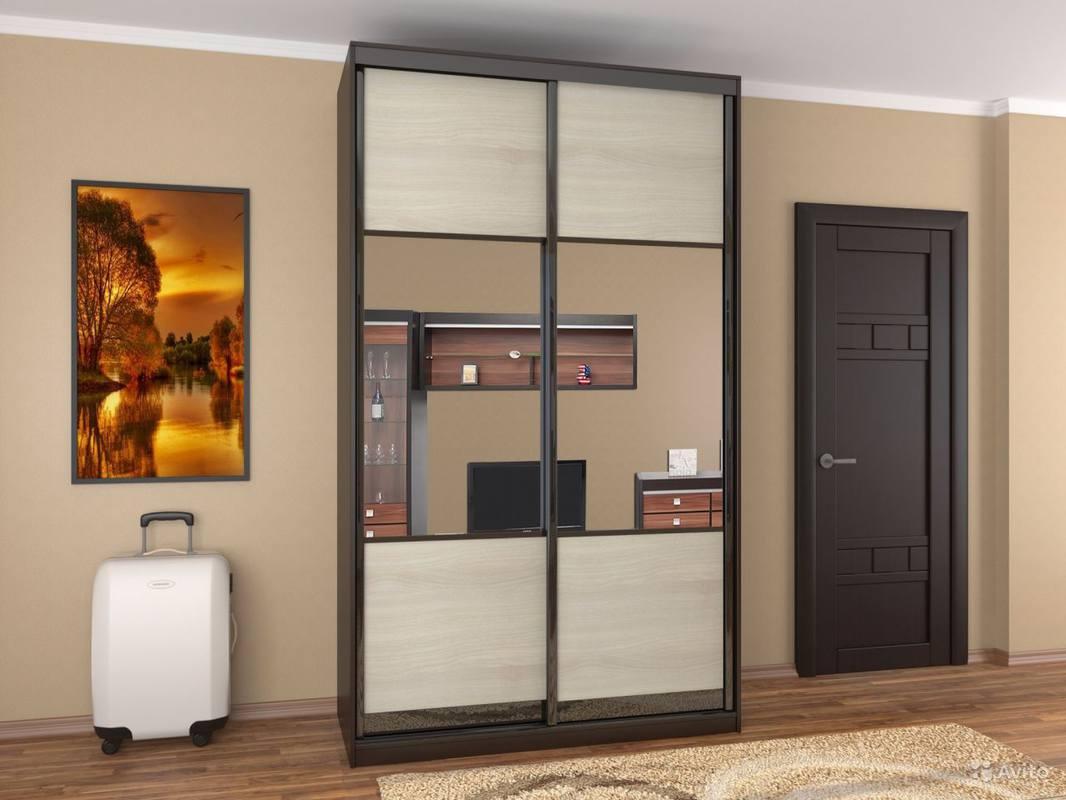 Шкаф купе с зеркальными дверями купить недорого шкафкупе