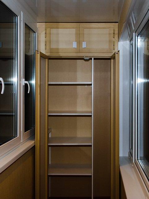 Самодельный шкаф на лоджии фото вариантов и нюансы