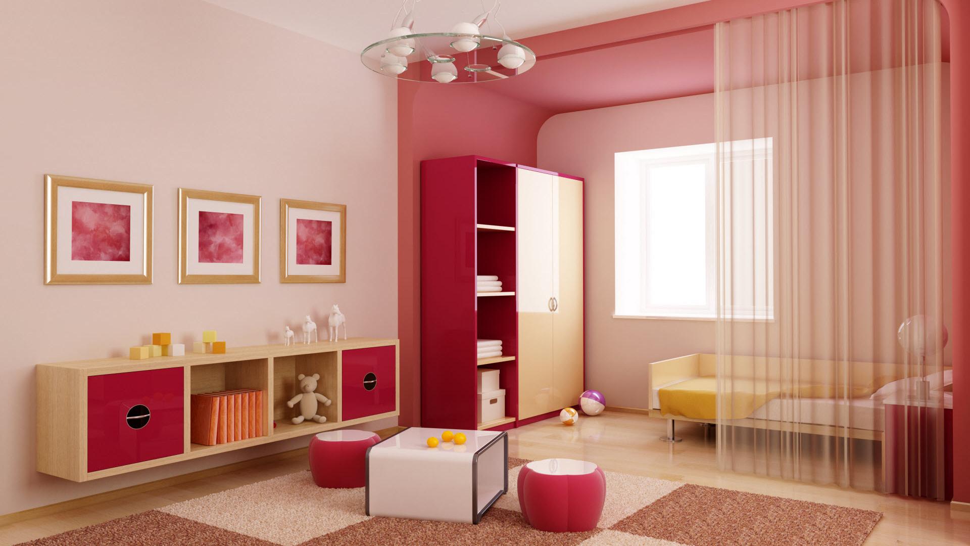 Детская комната  № 3567475 бесплатно
