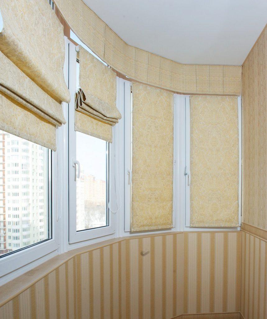 Шторы на балкон своими руками (28 фото как сделать и) 33