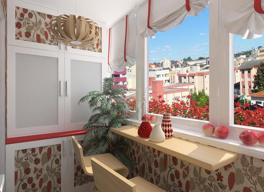 Как сделать шкафы на балкон 964