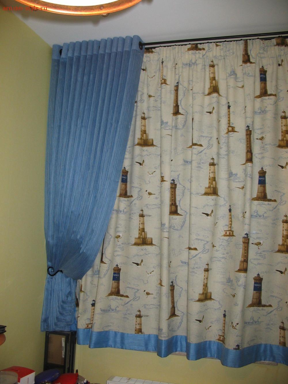 Как сделать простые шторы в комнату