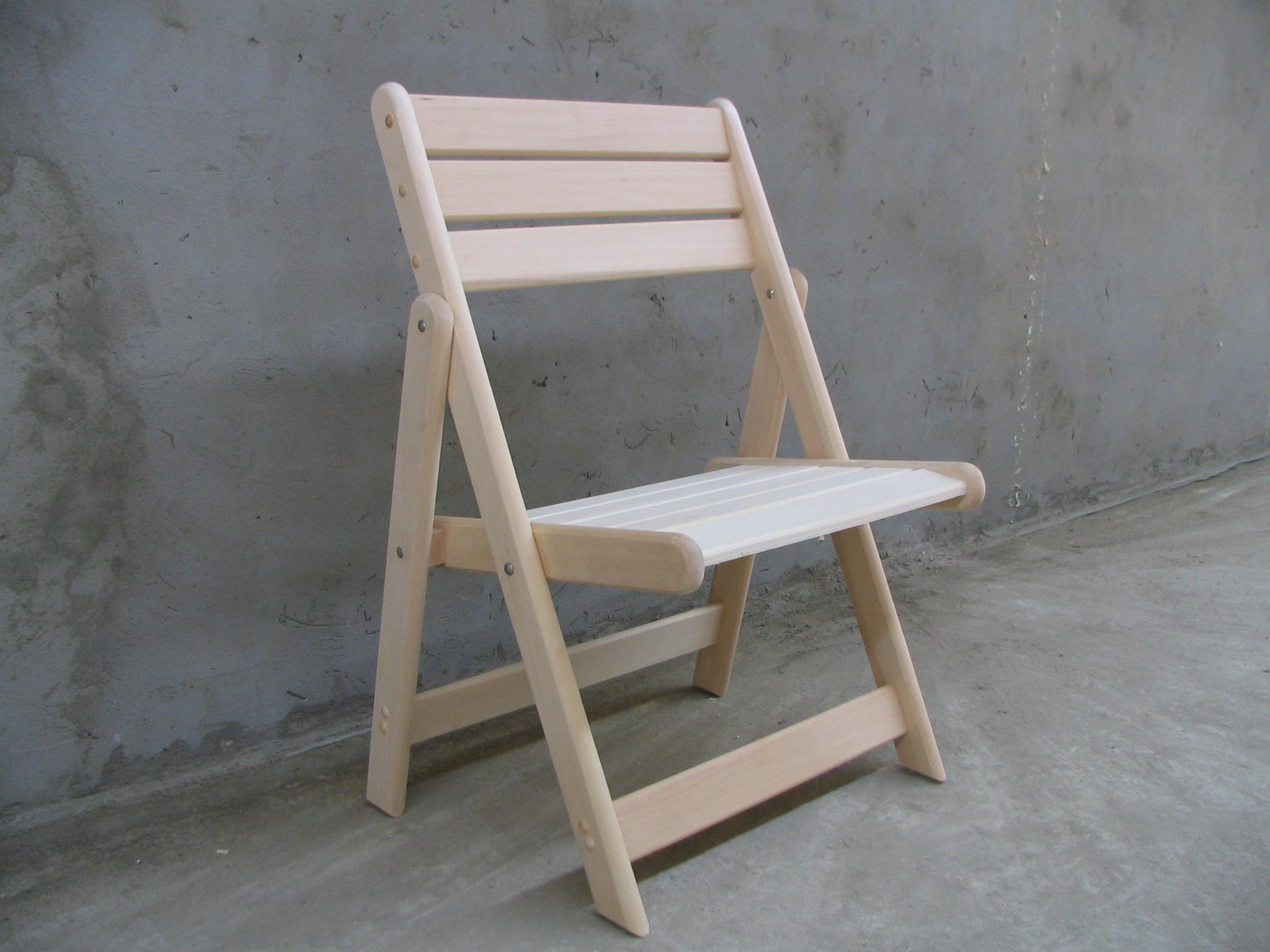Как сделать деревянный складной стул со спинкой 70