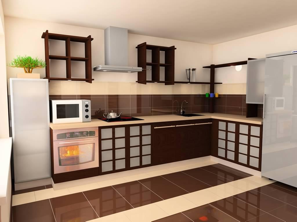 Дизайн пола для кухни