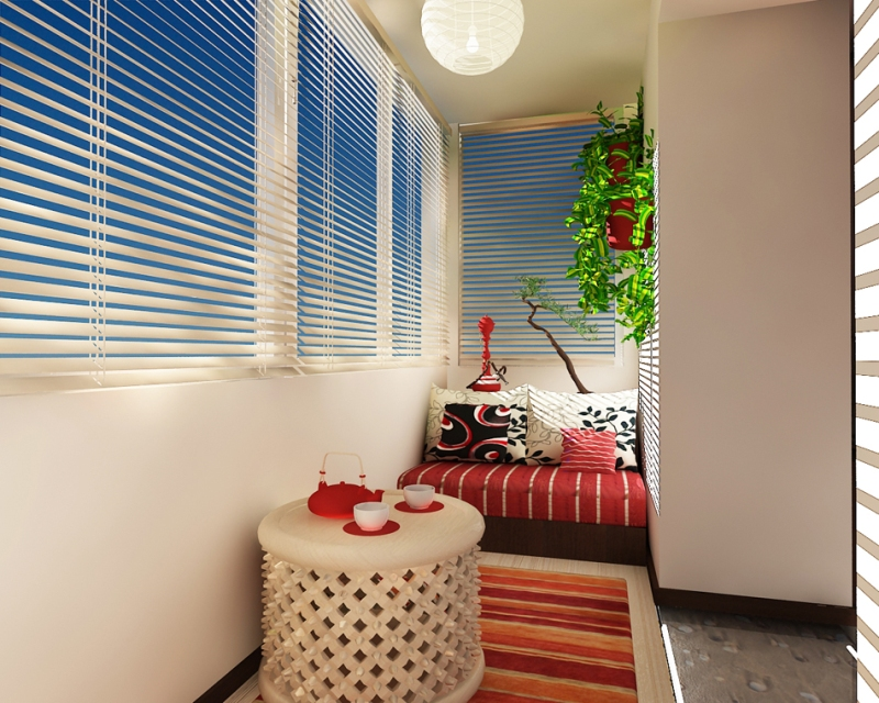 Дизайн балкона своими руками - 21 Января 2013 - мир дому.