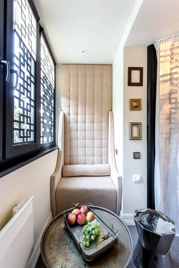 Спальня на балконе (47 фото): как сделать спальное место с в.