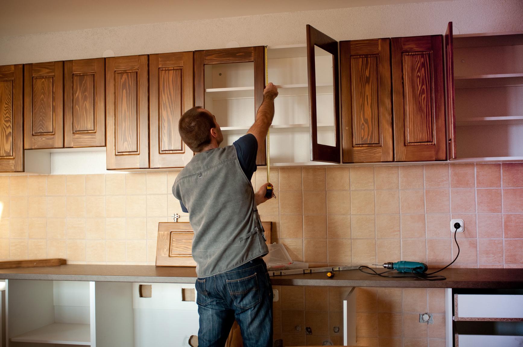 Ремонт кухонных шкафов своими руками