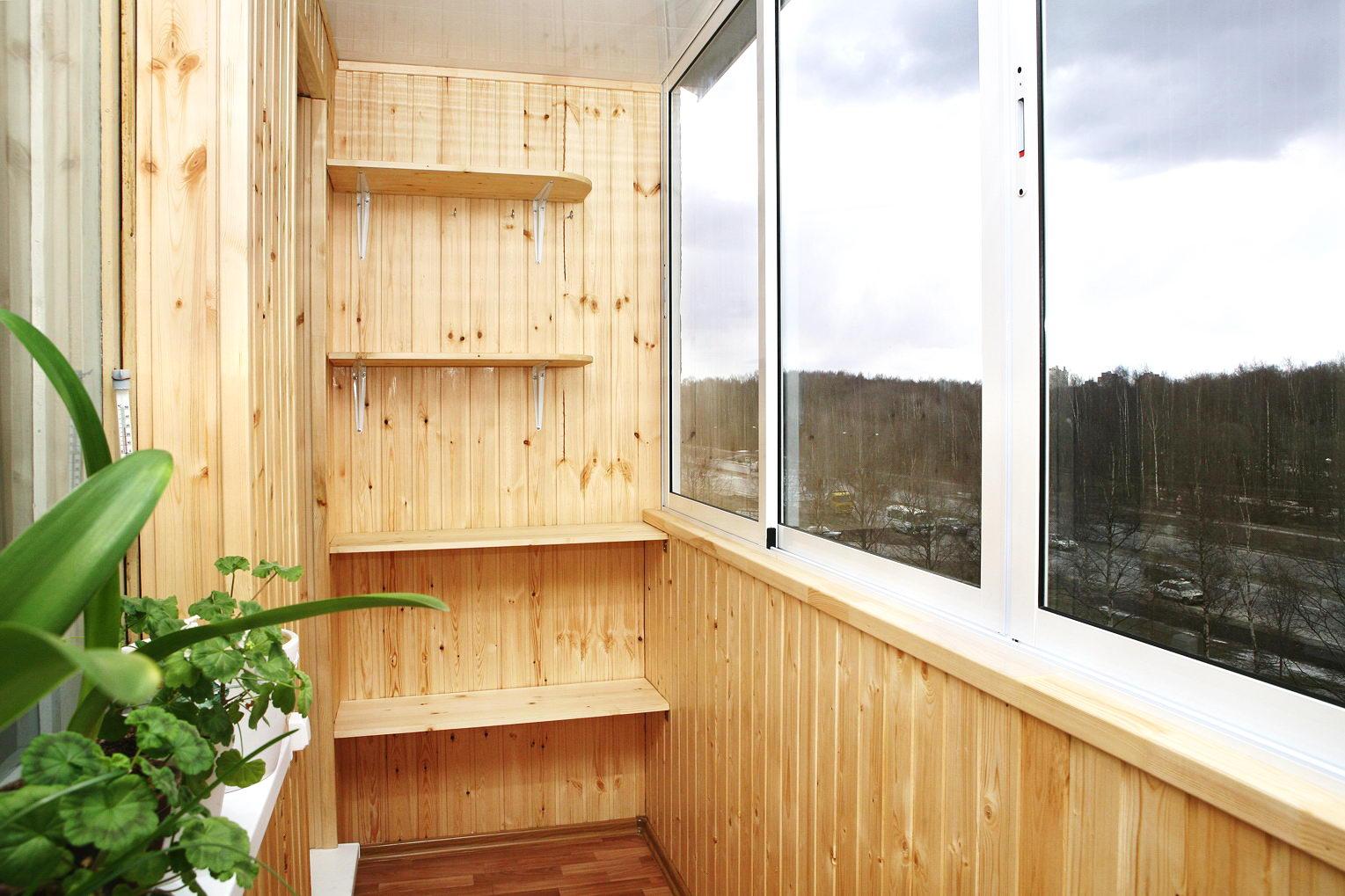 Балкон обшивка своими руками шкафы шкафчики полки