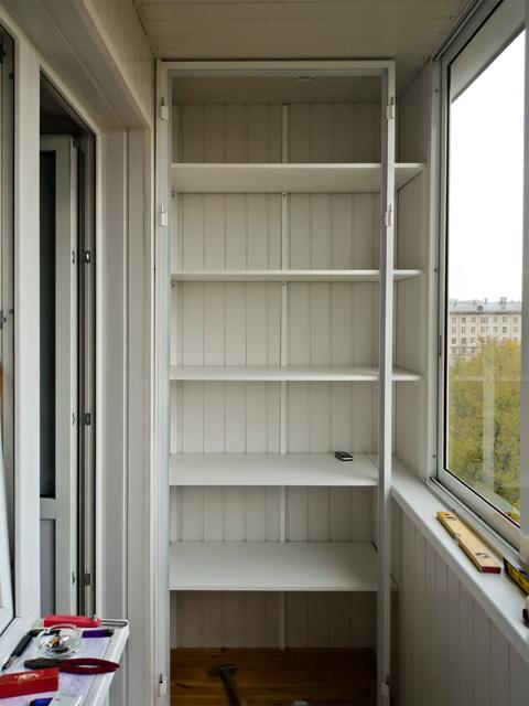 Полки на балкон.