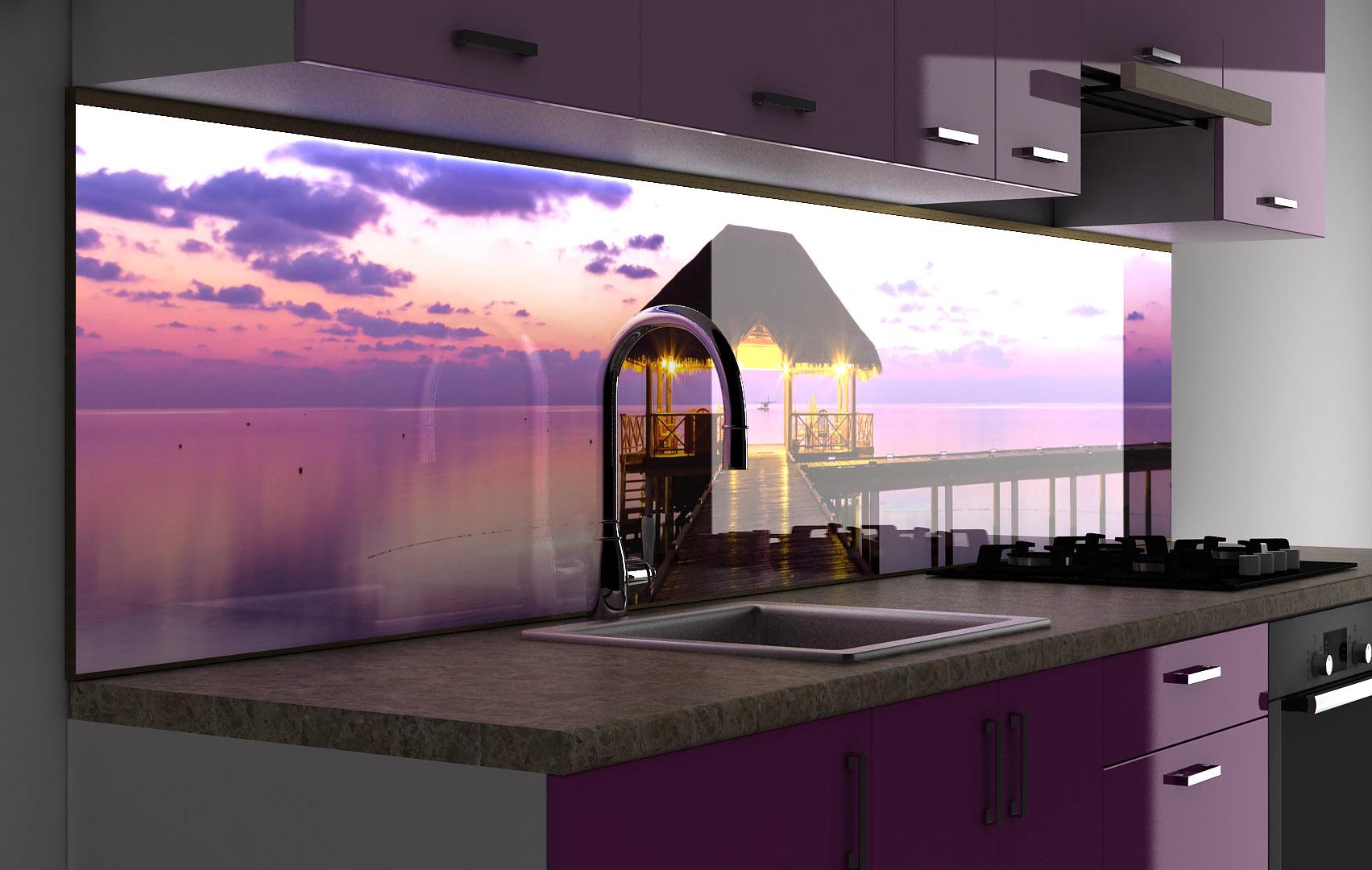 всех картинки кухни со стеклянной стеновой панелью верхнем уровне большой