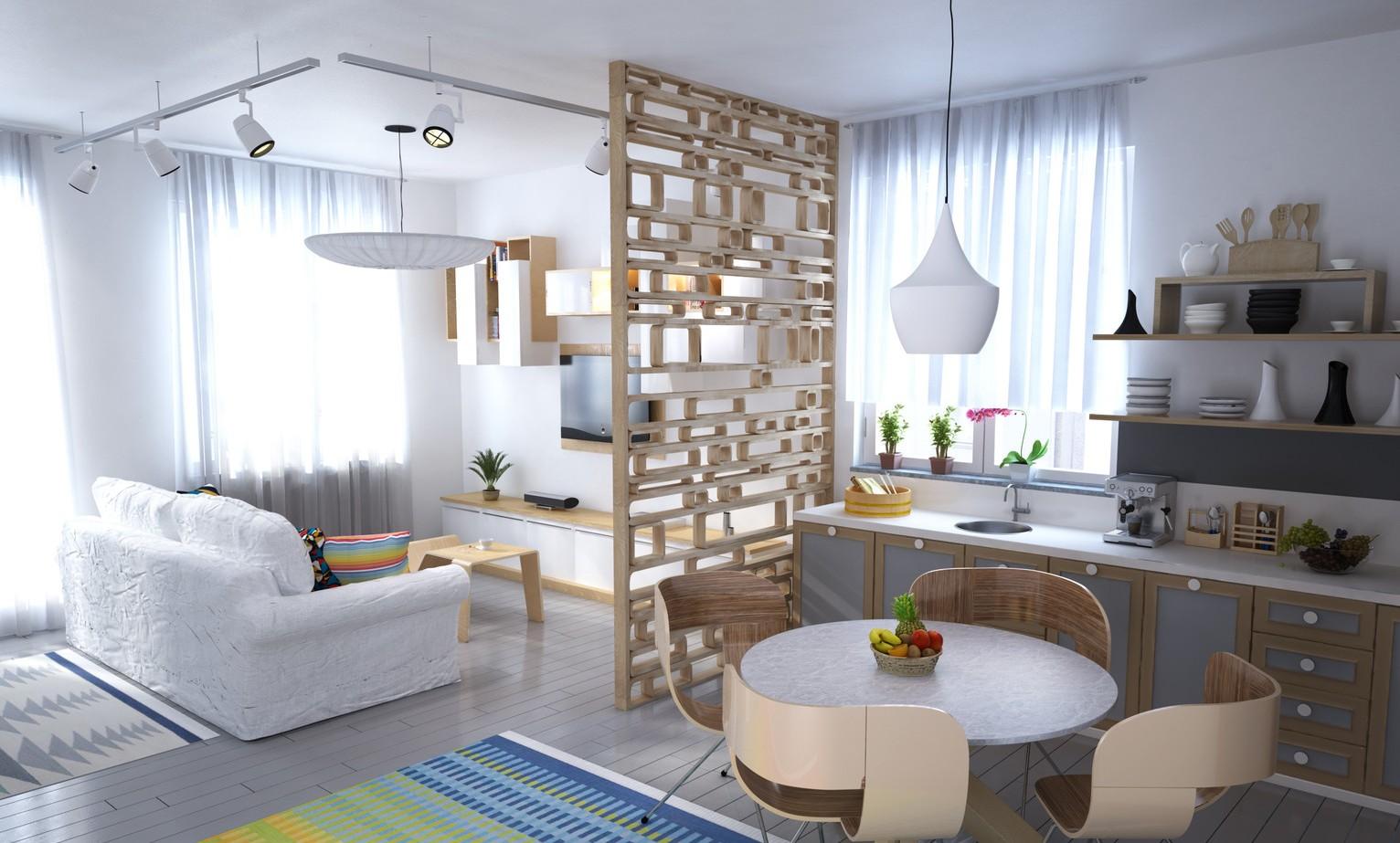 студия в скандинавском стиле 42 фото дизайн квартиры в стилях