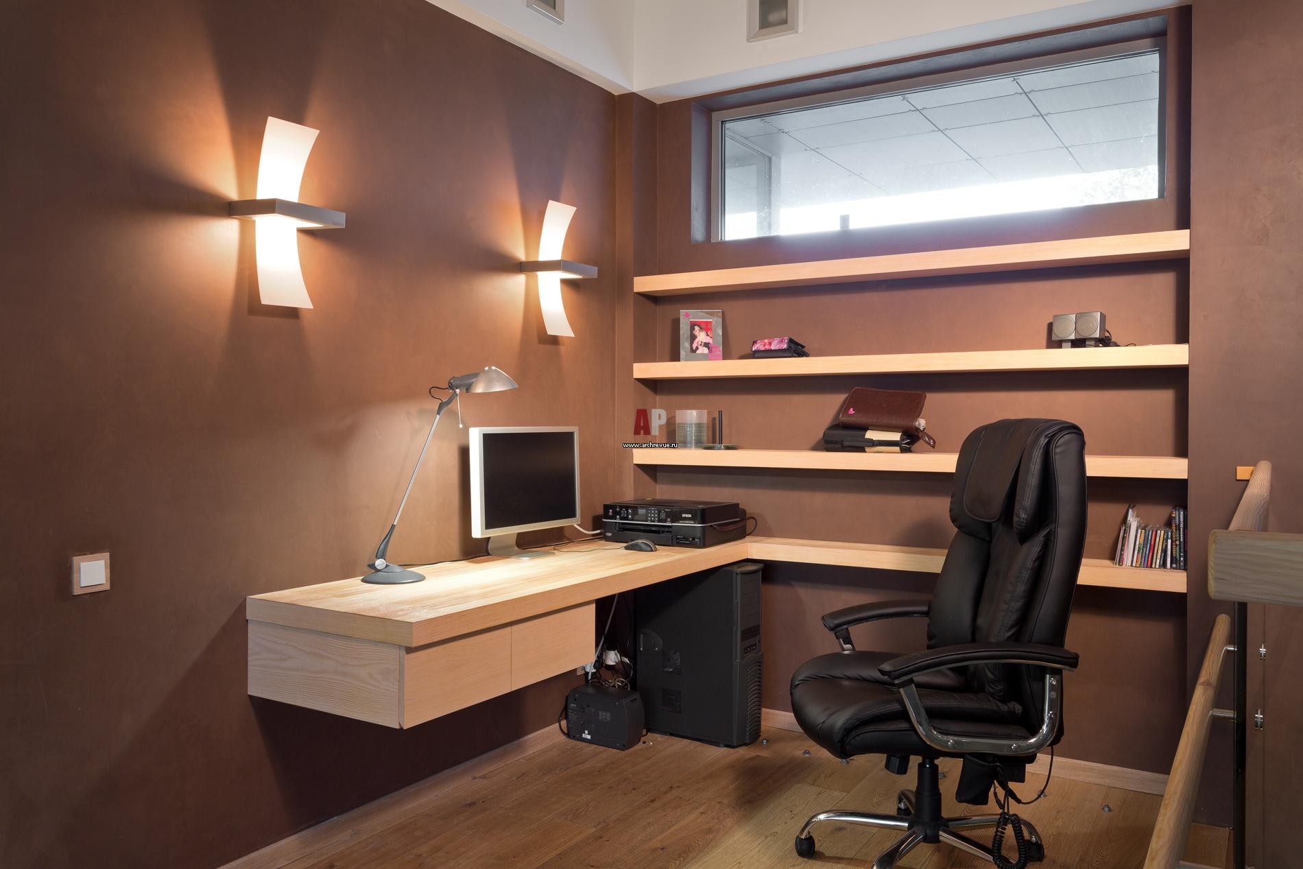 рабочее место в доме дизайн фото #10