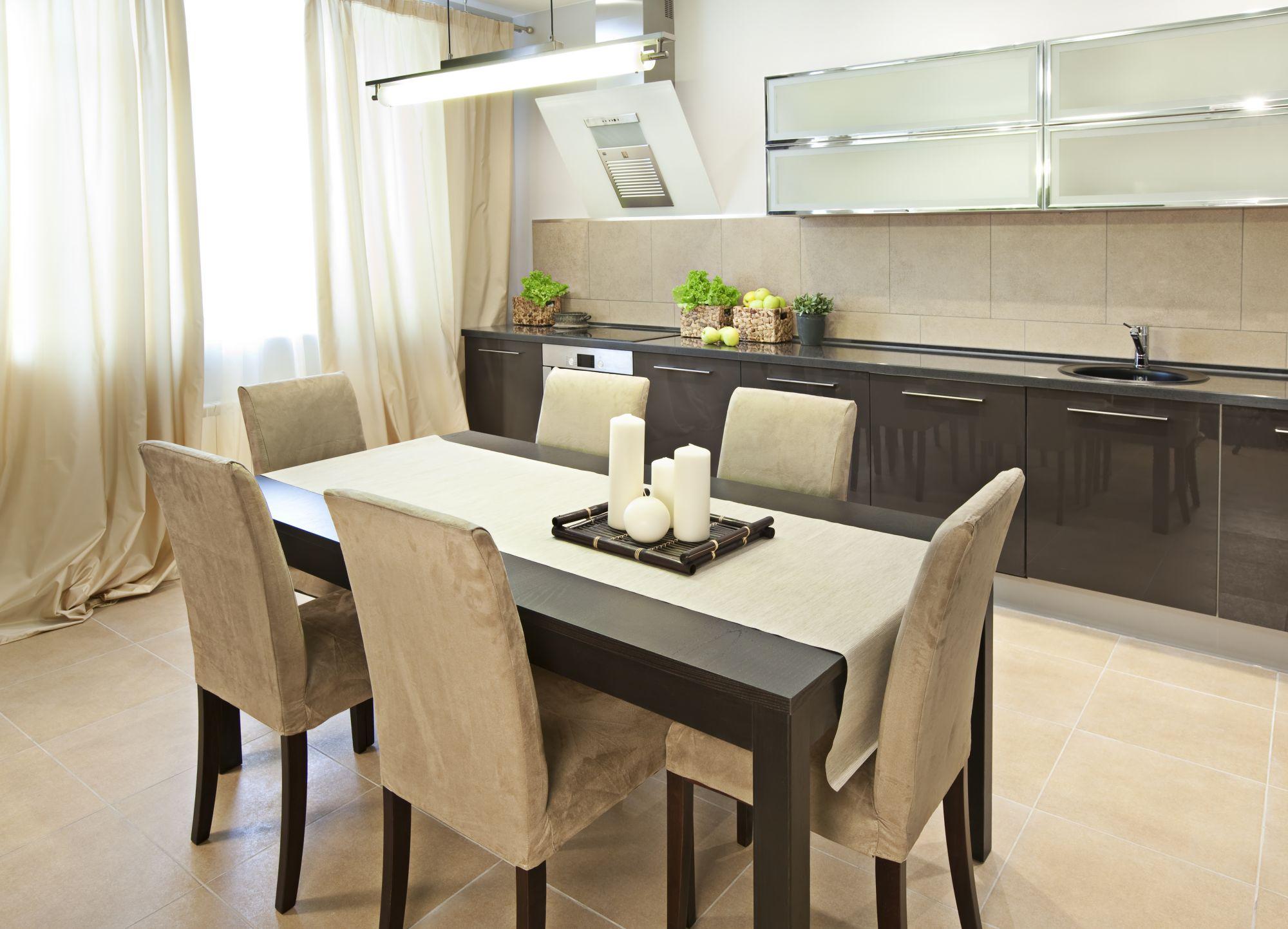 Как выбрать стол для кухни цвет имеет значение. 60 фото